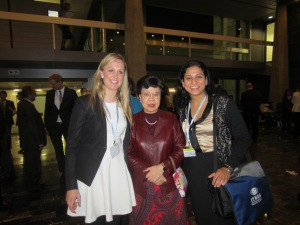 Chantelle Willard (LEFT), Dr. Chan (Middle), Roopa Dhatt (Right)